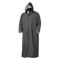 Waterproof Cheap Promotion Custom Long Polyester Rain Coats.