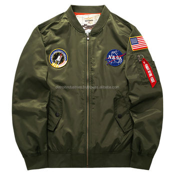 Mens Flight Jacket/types Of Fabric Material Flight Jacket Bomber ...