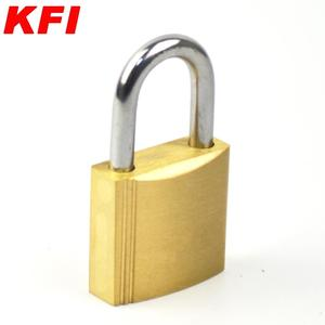 25mm small size brass material steel key safety padlock