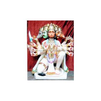 6375cdc0213 Panchmukhi Hanuman Ji White Marble Murti - Buy Beautiful Marble ...