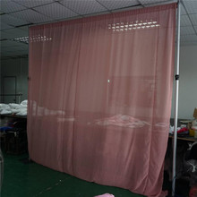decorative woven metal drapery wire mesh curtain fabric