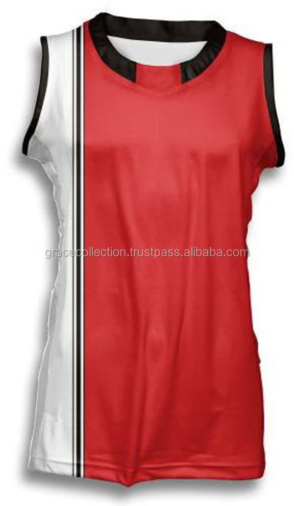 Basketball-Spiel Jersey-Frauen-Basketball-Uniform