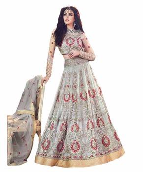36fba06bb38 2017 Zoya Wedding Wear Anarkali Suits   Heavy Embroidery Designer Lehenga  2017   Floor Length Anarkali