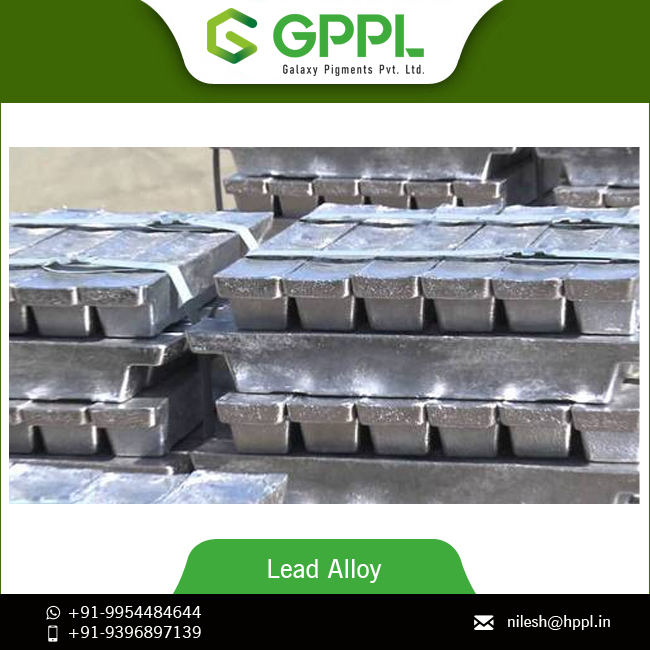 Global Supply of Lead Alloy Ingot from Leading Brand at Wholesale Price