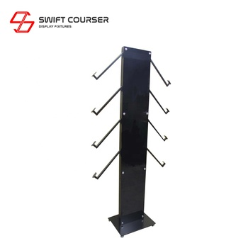 Swift metal alloy wheel stands racks for cars