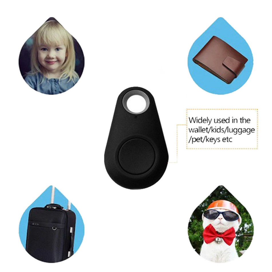 Hot Smart Bluetooth Tracker Locator Tag Alarm Anti-lost Device For Mobile Child Bag Wallet Key Finder Locator Anti Lost Tracker