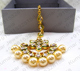 Kundan Stone Pearl Beaded Gold Plated 22kt Indian Maang Tikka Head Jewelry