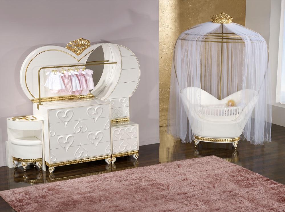 Furniture Baby Children Luxury Cribs Set Product On Alibaba