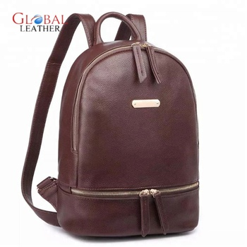 9e45d5c24317 High Quality Leather School College Backpack Bag - Buy Girls Leather ...