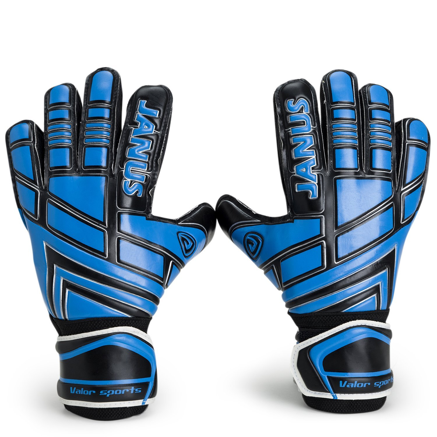 Get Quotations · Valorsports Youth Adult Goalie Goalkeeper Gloves,Strong  Grip for The Toughest Saves, With Finger