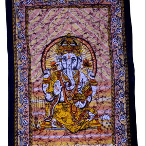 Lord Ganesha Wall hanging Tapestries Mandala tapestry Cotton Bedspread Wall Tapestry Throw Blanket