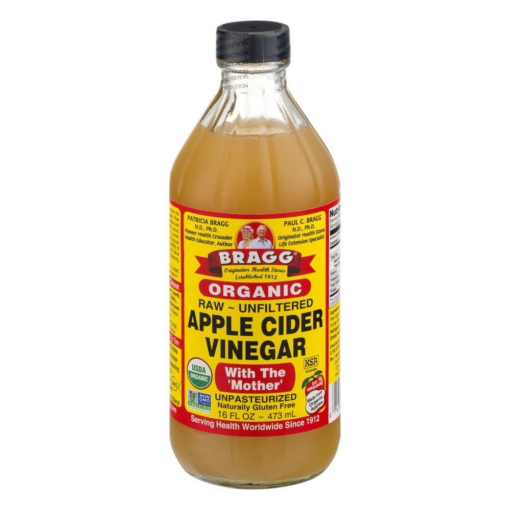 Bragg Apple Cider Vinegar 16 oz liquid (473 ml)