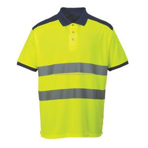Hi-Vis Contrast Polo Shirt