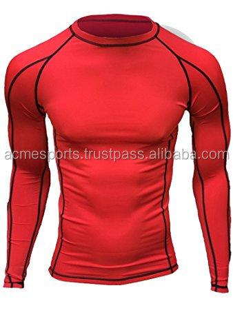 9a87f4659bf rash guard shirts - Wholesale youth compression shirts  fitness wear  Rash  guard