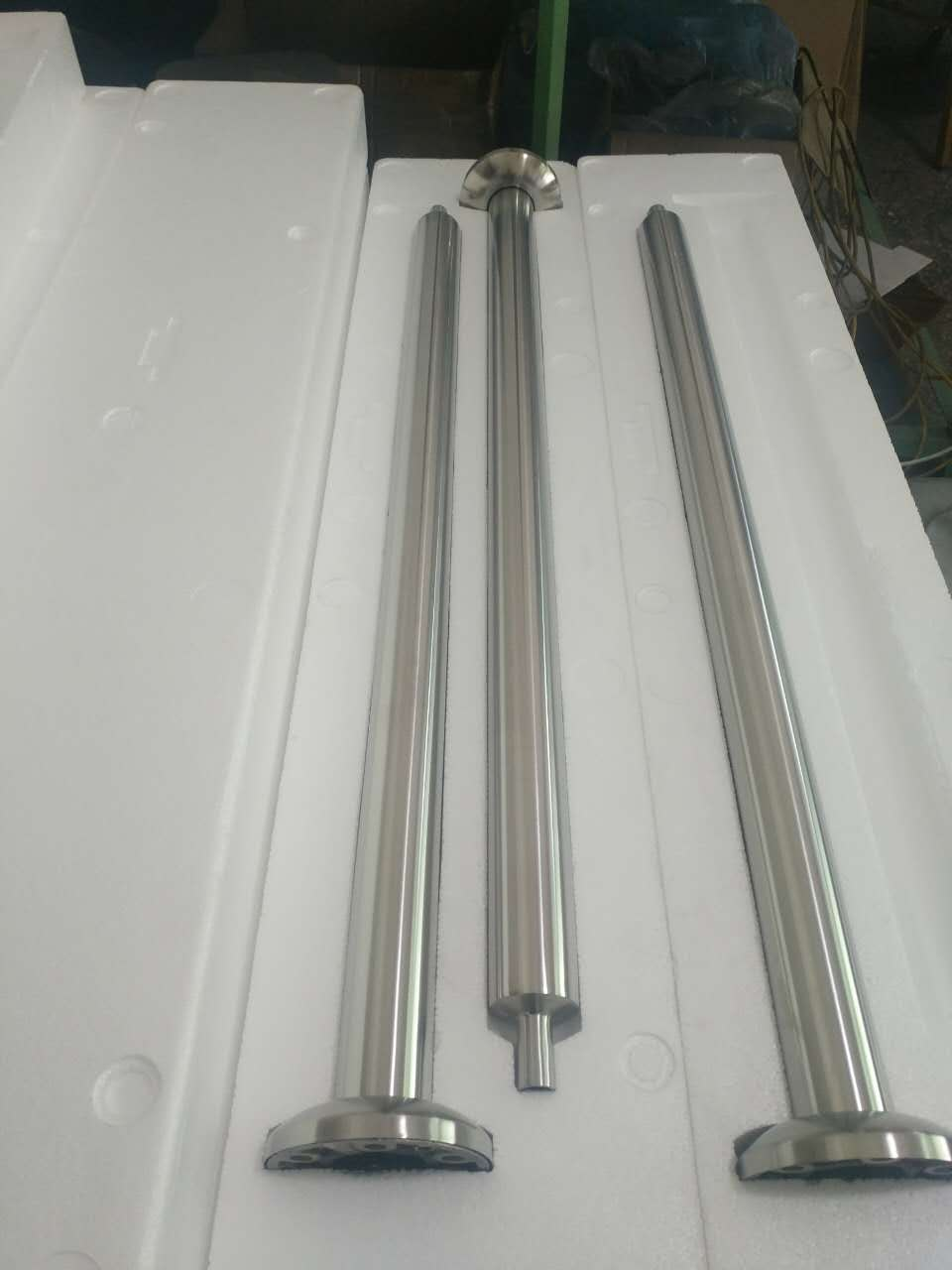 Stainless Steel Cable wire or Glass Panel Railing Square Handrail Post