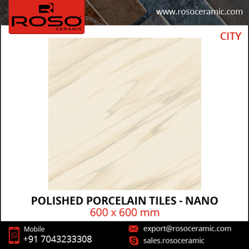 Super Glossy Polished Porcelain Tiles from Certified Supplier