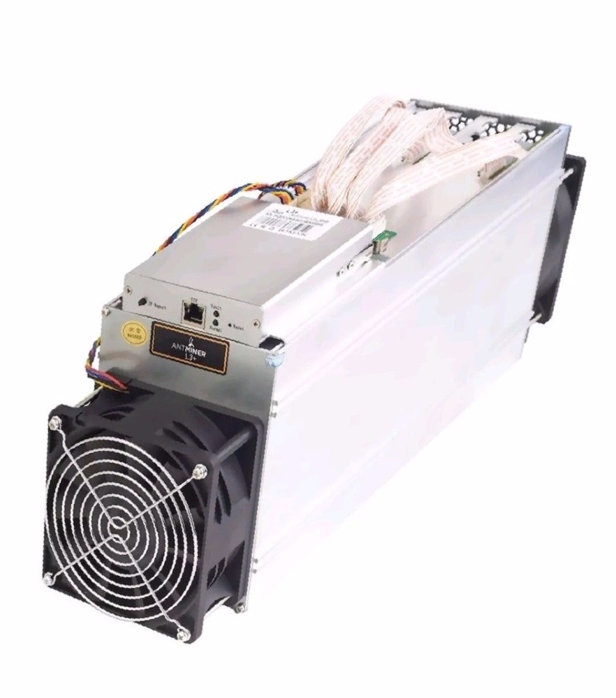 Fast Shipping Antminer L3+ Scrypt Litecoin LTC 504 Mhs Miner 800W