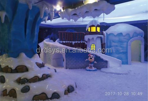 Indoor Real Snow House for Amusement Park
