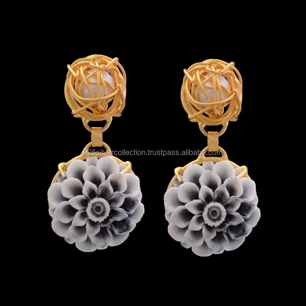 Flower Design Earrings, Flower Design Earrings Suppliers and ...