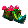 Indoor Kids Mushroom Inflatable Jumping Bouncy Castle with Air Slide