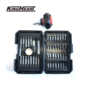 "1/4""Ratcheting handle bit screwdriver 48 pcs mini tool kits with ergonomics small stubby palm Household hand tool set MIT"