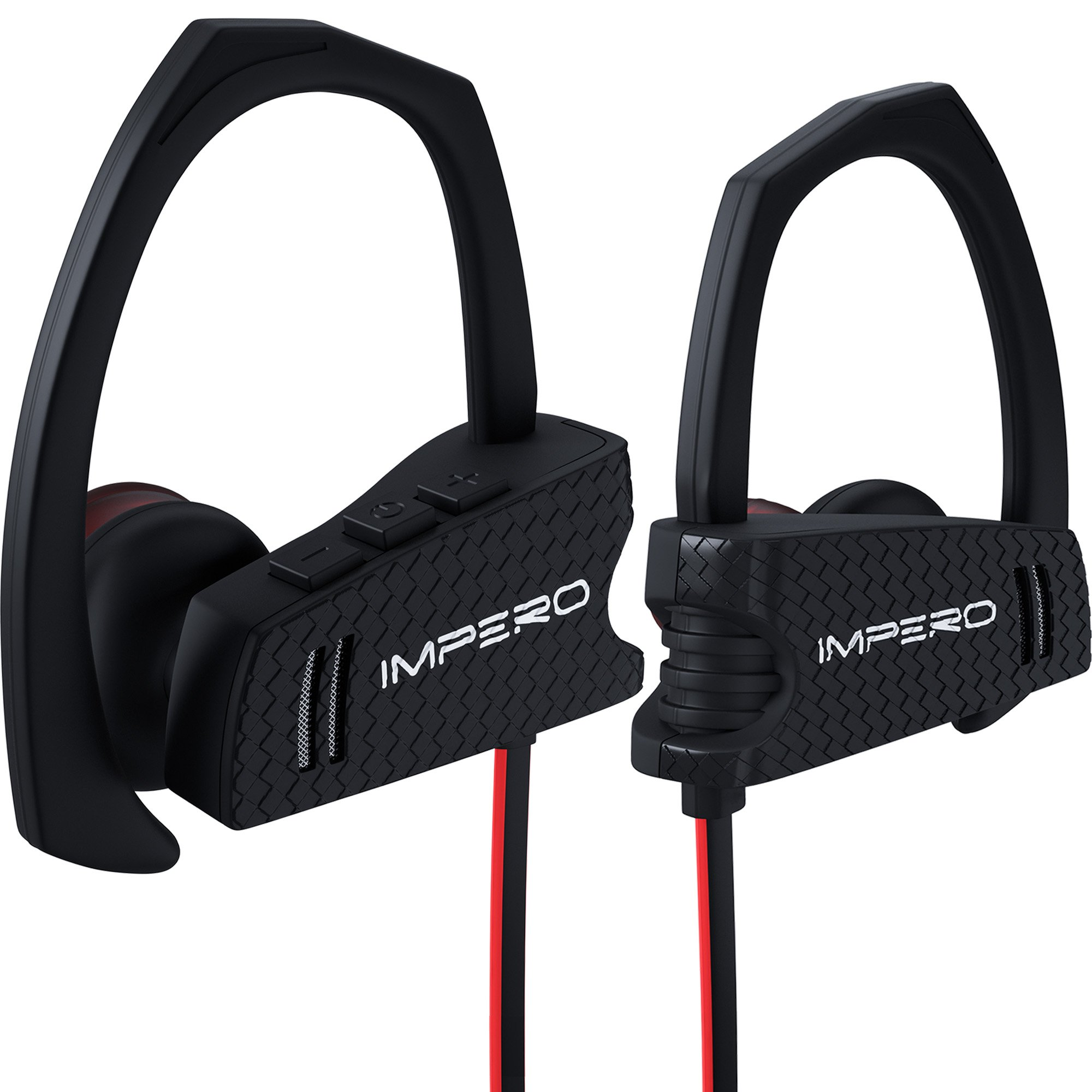 Wireless Headphones IMPERO Sport Bluetooth Headphones with Microphone, Wireless Earbuds Sport Headphones Best Bluetooth Earbuds Wireless Bluetooth Headphones Running Headphones Workout Headphones