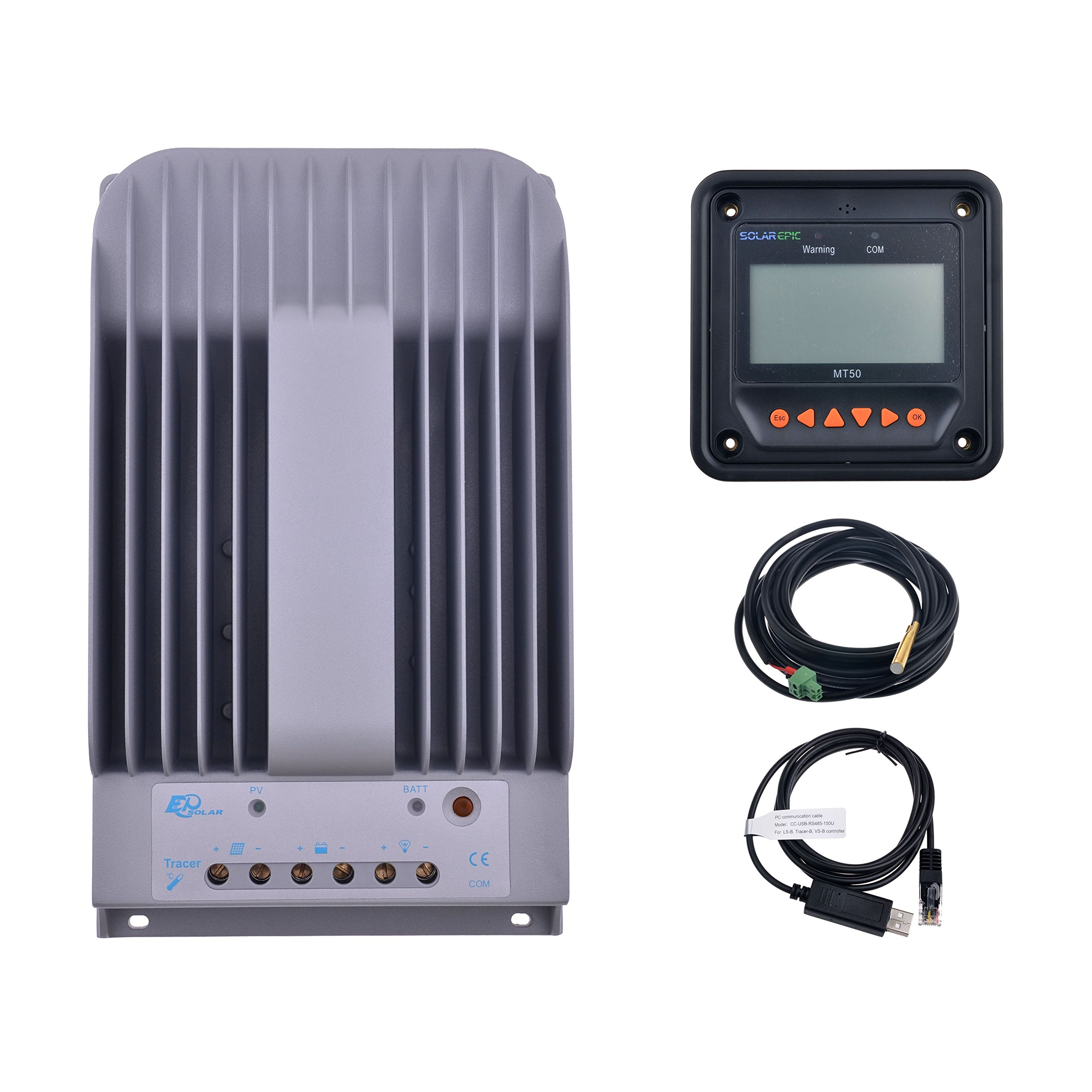 Cheap Temperature Controller Sensor Find Stc1000 Digital Microcomputer 220v W Get Quotations Solarepic 40a Mppt Solar Charge With Mt50 Remote Meter Pc Communication Cable