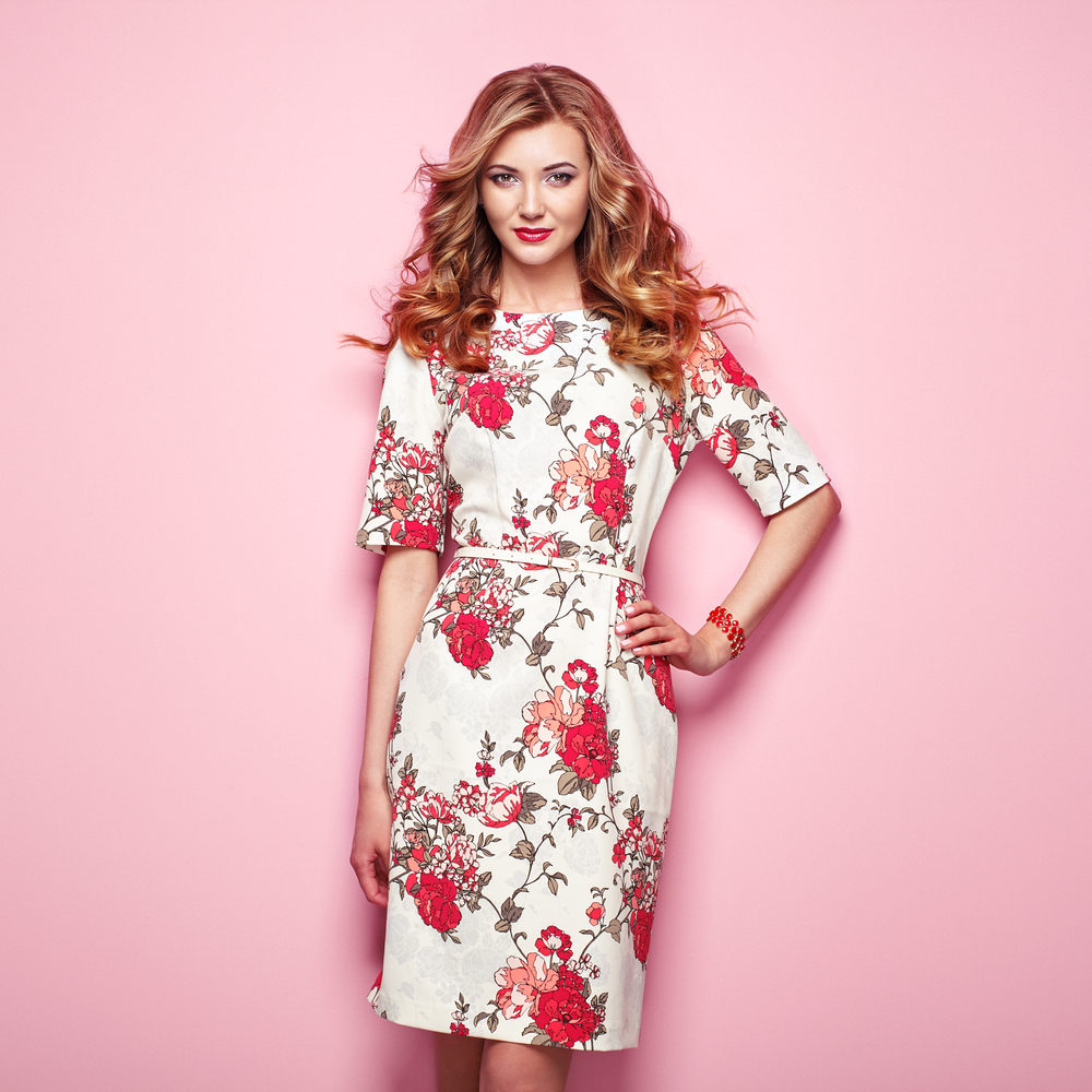 Designer flower dress wholesale manufacturer