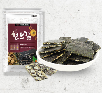 SINJUNG FND Organic Healthy Snacks Sandkim series(Almond, Spicy nuts, Pumpkin seeds, and Black rice)