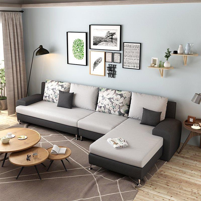 L Shaped Sofa Stainless Steel Frame Living Room Furniture Sofa Design  Modular Sofa - Buy Stainless Steel Frame,L Shaped Sofa,Living Room  Furniture ...