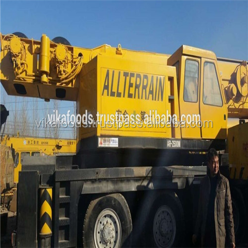 Used Tadano 250t AR2500M crane with good condition for sale