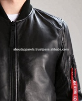 AA LEATHER JACKET MEN NEW FASHION STYLE WINTER