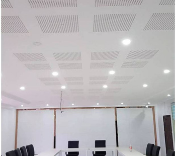 Perforated Acoustic Gypsum Board