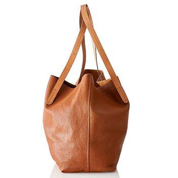Large Capacity Women Shoulder Tote Bags Simple Messenger Bags PU Leather  Handbag 810c18d132a94