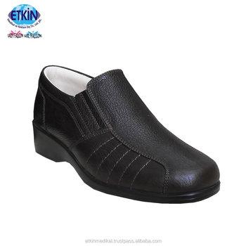 64f8e6f0e5 Mulheres Conforto Ortopédicos Médicos Vestido Sapatos para Calçado Diabetic  Propriedades