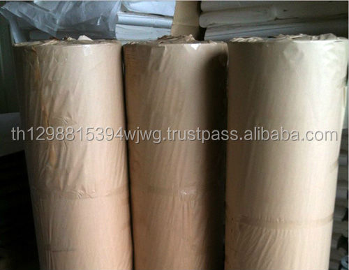 Food Grade 50GSM Brown Kraftpapier Butcher Paper