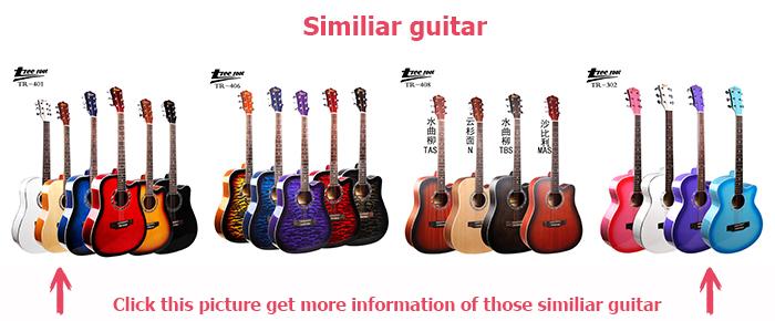 Cây bồ đề Top 39 inch giá rẻ giá âm thanh đầy màu sắc guitar