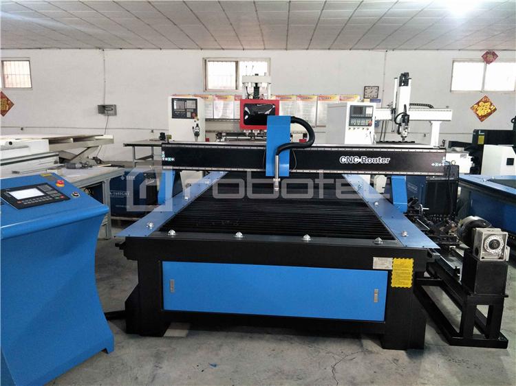 Yüksek yapılandırma cnc plazma kesme makinası/cnc plazma tüp kesme makinesi 1325/Maquina de corte por lazer plazma