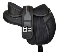 Synthetic Freemax Treeless Horse Saddle Black