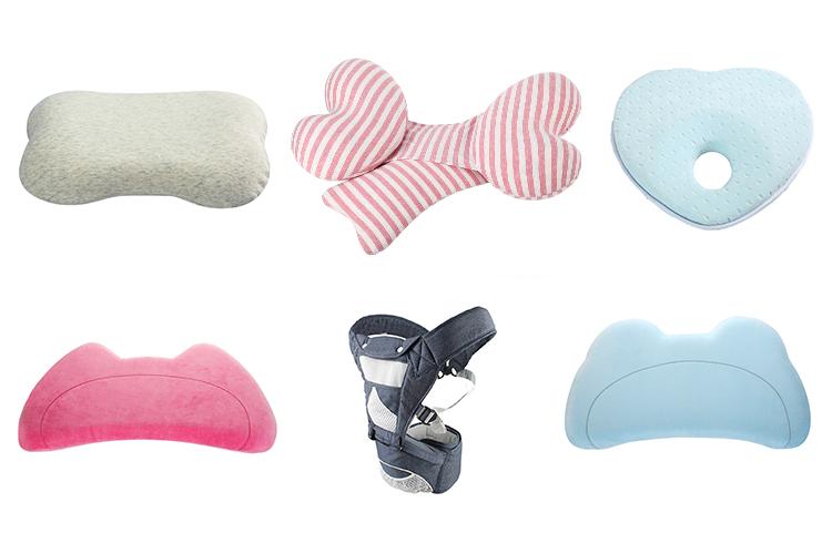 Small Custom Organic Cotton Anti Roll Sleep Nursing Memory
