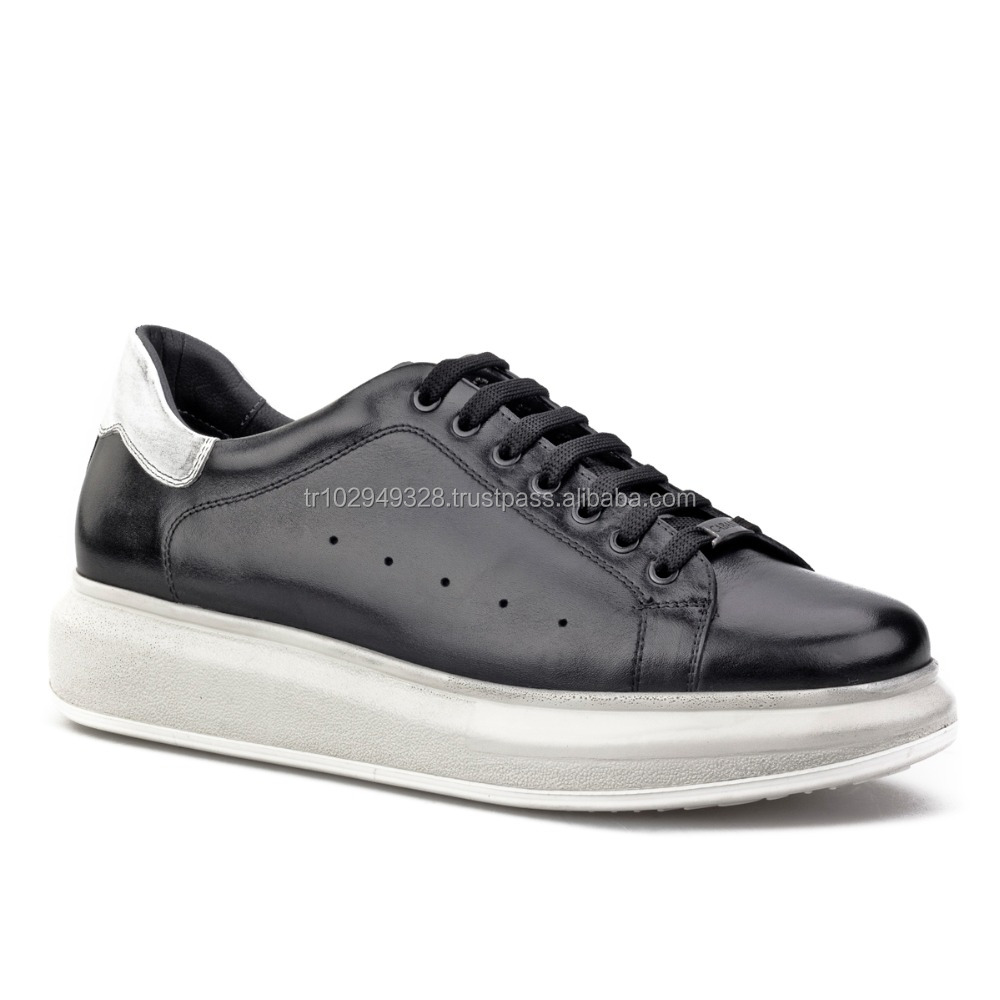 Leather Casual Sneakers Shoes 350M1166 Men rubber Light 7Zrq7wz