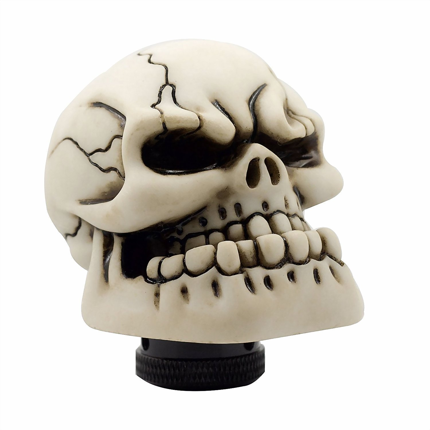Thickyuan High - end auto parts & Automatic Gear Shift Head Shifter Lever Shift Knob or Shift Knob Interior Accessories Skull Car Manual Shift Knob Manual(Yellow)