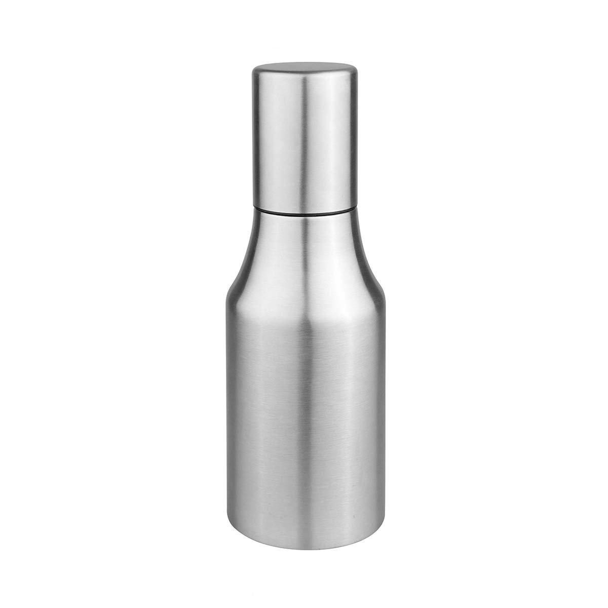 Powstro Olive Oil Dispenser Bottle Oil Pourer Dispensing Bottles Stainless Steel Olive Oil Dispenser Leakproof Kitchen Oil & Vinegar Cruet (500ml)