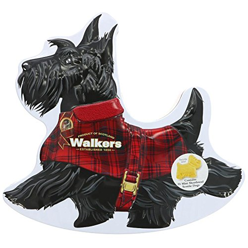 Get Quotations · Walkers Shortbread Wee Scottie Dog Tin, 7.0 Ounce