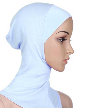 New Under Scarf Hat Cap Bone Bonnet Hijab Islamic Head Wear Neck Cover Muslim drop shipping Warehouse