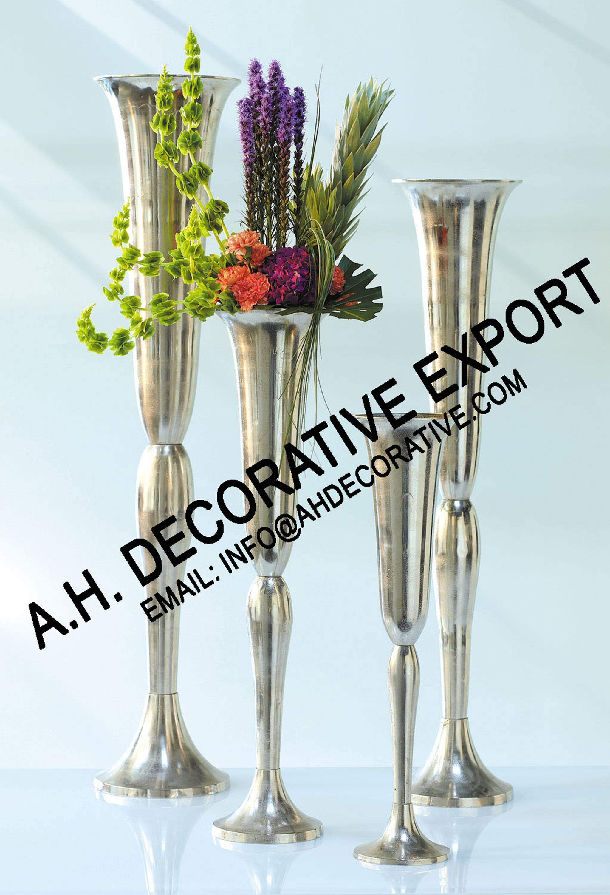 48 beautiful tall trumpet vases home idea aluminum trumpet vase wedding metal centerpiece silver flower vase reviewsmspy