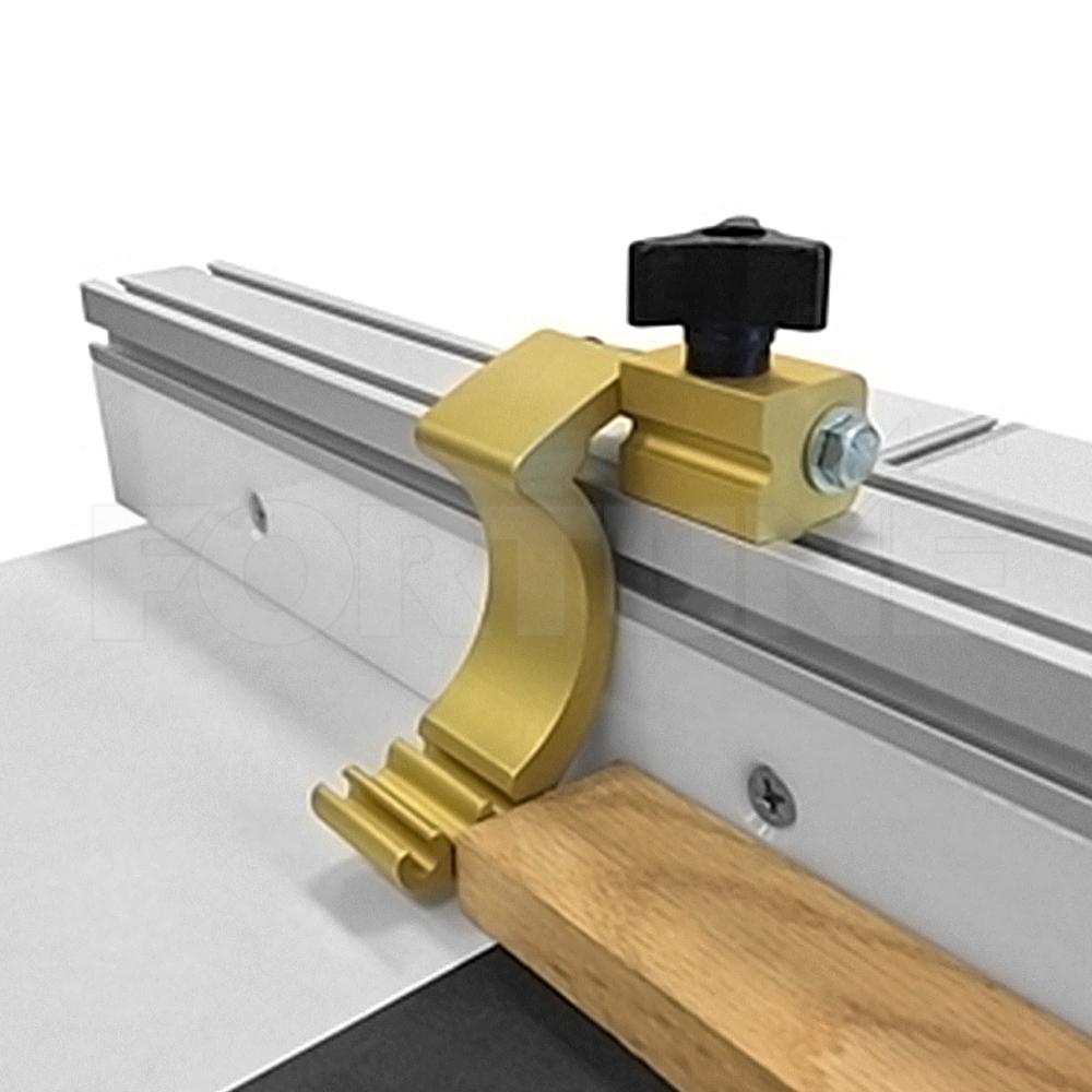 joyMerit Holzbearbeitung DIY Tools Mitre Track Stop F/ür T Nut T Track Durable 30//45-100 mm