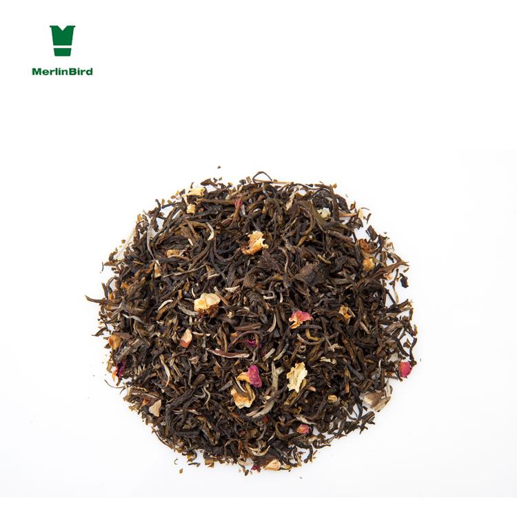 English afternoon organic blending osmanthus black tea rectangle teabag