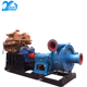 Horizontal centrifugal diesel electric river sand suction dredge pump for wet sand suction