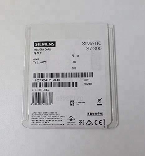 Siemens 6ES7953-8LF31-0AA0 Tarjeta de memoria 64KB